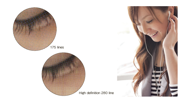 High definition 280 line